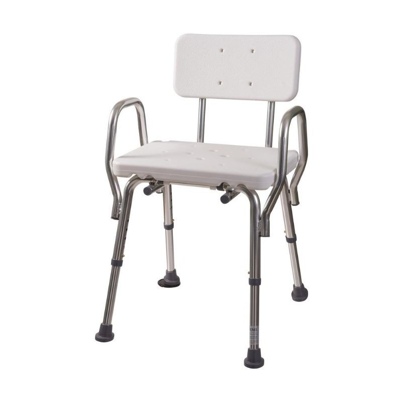 Mabis Shower Chair with Backrest