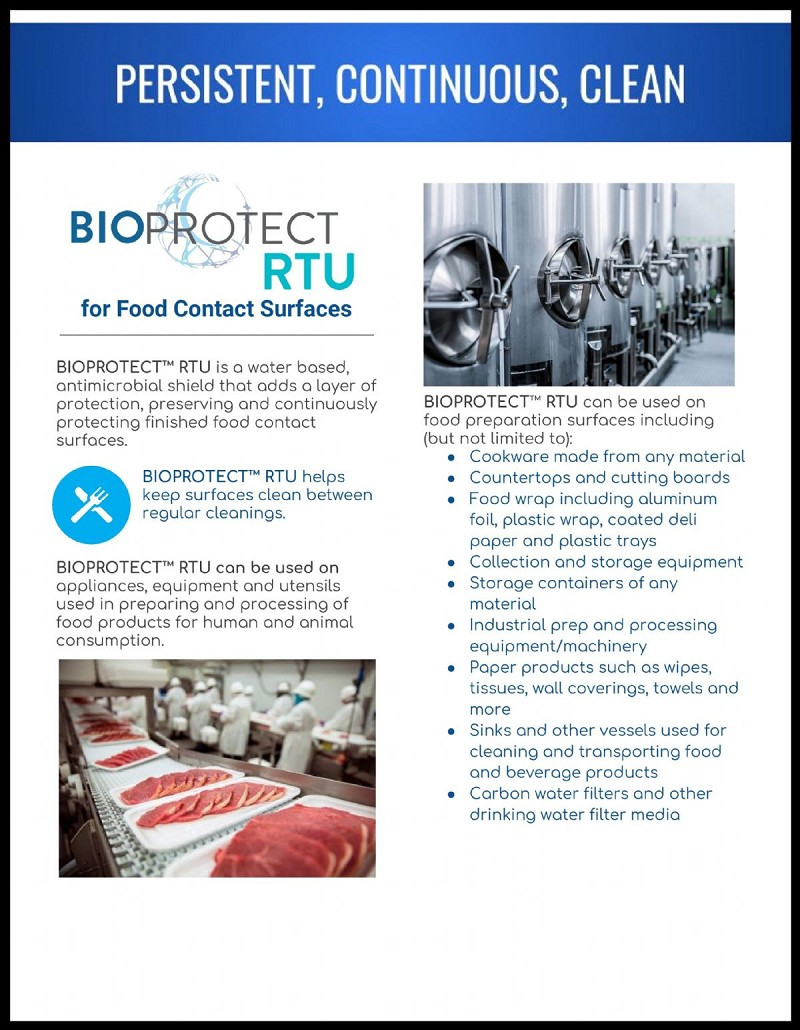 Bioprotect Rtu Ready To Use Antimicrobial Surface