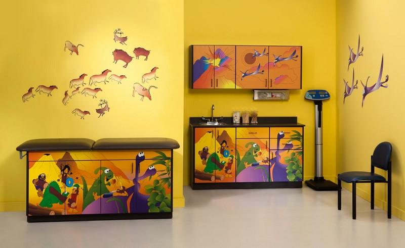 Pediatric Exam Room Wall Decals