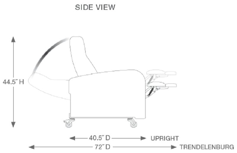 Champion Passage Series Treatment Recliner