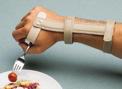 Deluxe Wrist Support With Universal Cuff Assistive