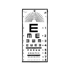 Illiterate Eye Chart : Eye Charts