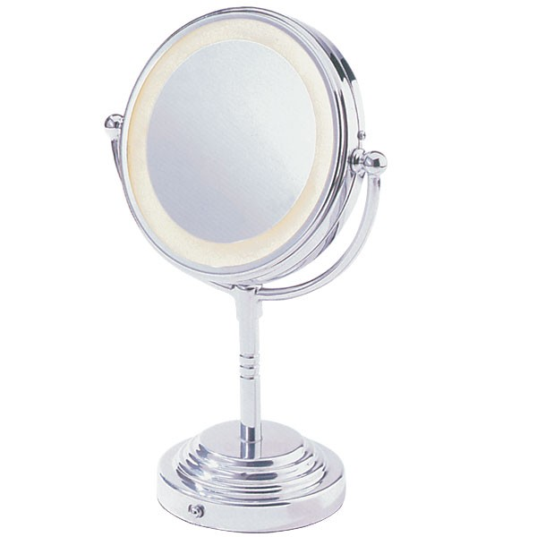 conair double sided lighted makeup mirror mirrors. Black Bedroom Furniture Sets. Home Design Ideas