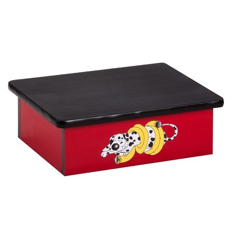 Coordinating Character Laminate Step Stool Foot Stools