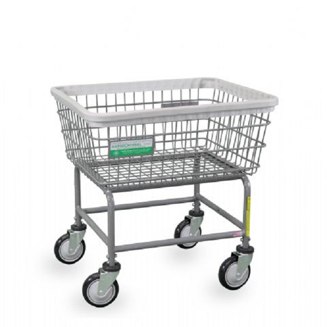 Antimicrobial Wire Laundry Carts - FREE Shipping