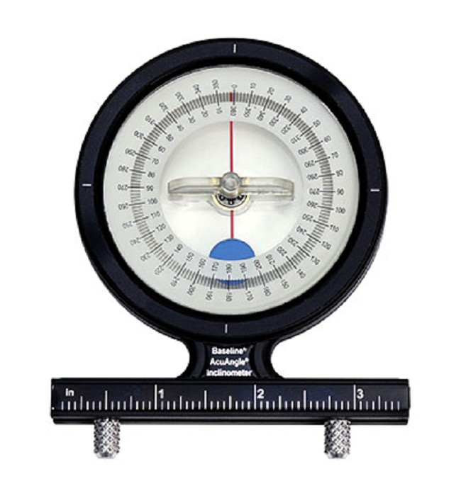 Baseline Acuangle Adjule Feet Inclinometer Is A Fluid Damped Medical Tool To Accurately Measure Joints Range Of Motion
