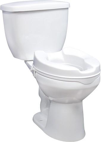 black square toilet seat. Locking Raised Toilet Seat  Handicap Elevated