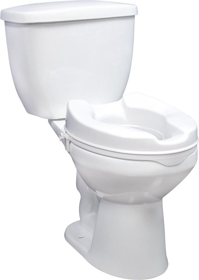 Drive Medical Locking Raised Toilet Seat