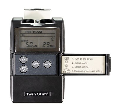 EMS/TENS Unit 2-Channel Device for Pain