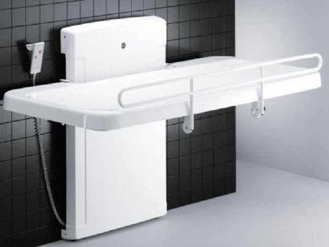 Pressalit Care Adult Changing Table - Adult changing table
