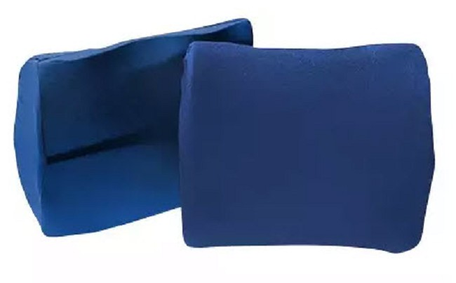 Molded Foam Lumbar Cushion With Straps