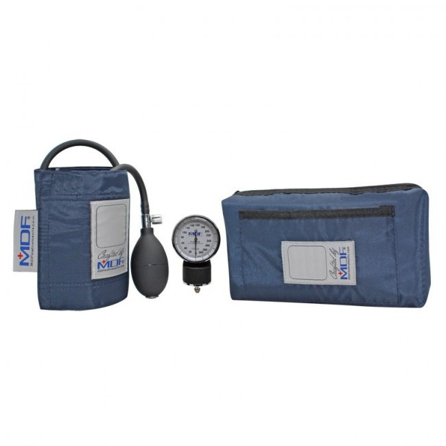 MDF Calibra Pocket Aneroid Sphygmomanometer, Stethoscope