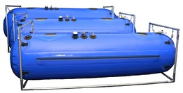 Mild Hyperbaric Oxygen Chamber, 4 Viewport Windows, Silicone Seal Technology, Indicated For Clinical or Home HBOT Use