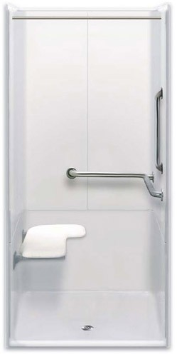 Three Piece Ada Transfer Shower Wall Mounted Shower Benches