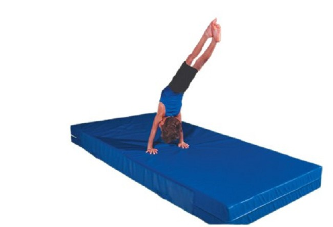 blue mat panel these off exercise shop snag folding summer thick sales gymnastics mats gymax