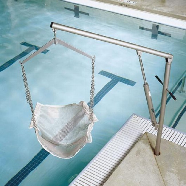 Hydraulic hoyer pool lift free shipping for Hydraulic chair lift for swimming pool