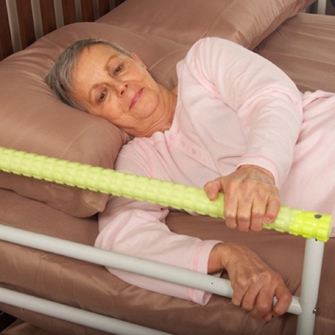 Baby bed fall prevention - Safety Glo Bedside Hand Rail