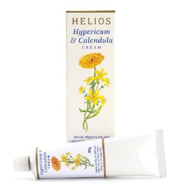 Hypericum / Calendula Organic Topical Cream for Cuts, Stings, Bites, and  More
