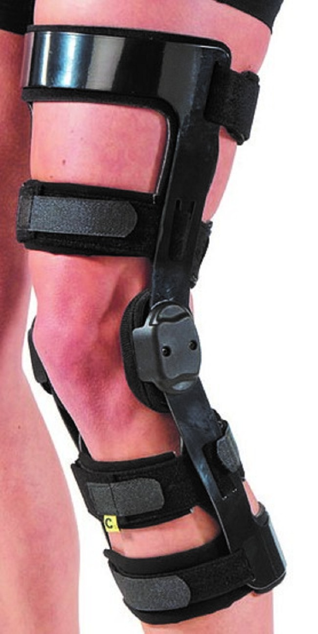 Acl Knee Brace With Rom Free Shipping