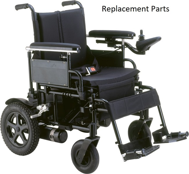 Drive Medical Replacement Parts for Cirrus Plus EC Power Chairs