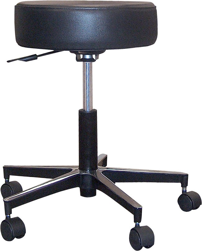 Super Revolving Pneumatic Adjustable Height Stool With Metal Base Onthecornerstone Fun Painted Chair Ideas Images Onthecornerstoneorg