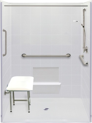 Wheelchair Accessible Bathroom Handicap Accessible Roll In