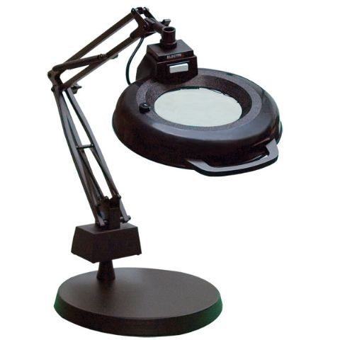 magnifier lamp craft lights desk lamps lighted. Black Bedroom Furniture Sets. Home Design Ideas
