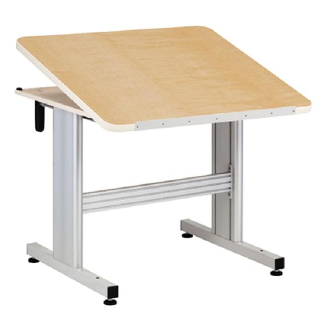 Hand Crank Patient Work Table with Tilt Top