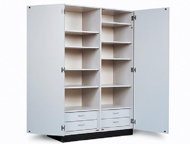 Hausmann Double Door Storage Cabinet