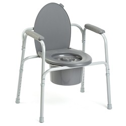 Invacare I-Class All-In-One Steel Commode