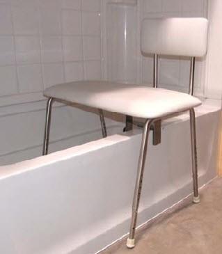 Folding Shower Transfer Bench