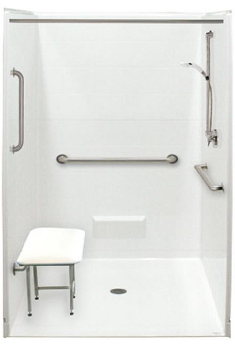 ADA Compliant Roll In Shower Pan
