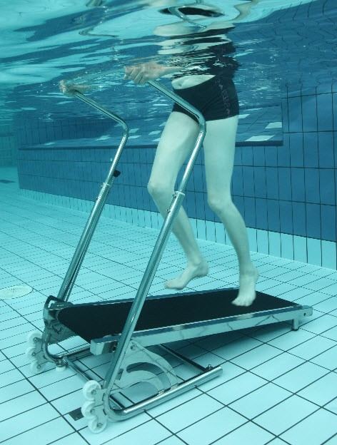Aquajogg Pool Treadmill Aquatic Therapy