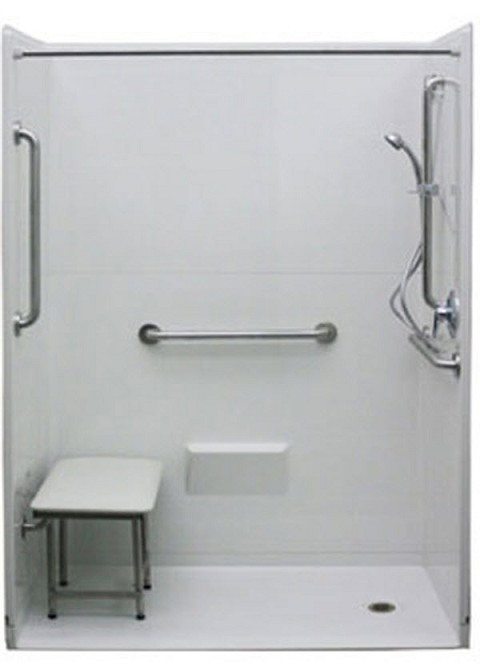 Wheelchair Accessible Freedom Shower Wheelchair Accessible Bathroom