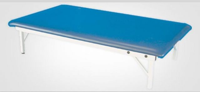 Fixed height mat treatment table for Table th fixed width