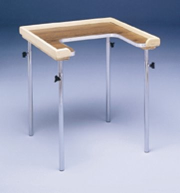 Adjustable height individual cut out work table for Table width not working