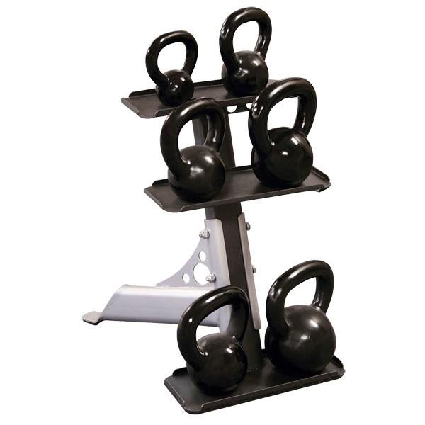 3 Tier Kettlebell Rack Gdkr50: Kettlebell Rack : Body-Solid Home Gym Equipment