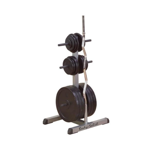 Weight Of Tree Wood: Body-Solid Standard Weight Tree And Bar Holder : Body