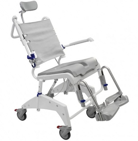 Aquatec Ocean Tilt in Space Shower Commode Chairs. Shower Commode Chair   Special Needs Bathroom   Shower Wheelchair