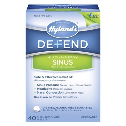 Hyland's Defend Sinus : Homeopathic Remedies