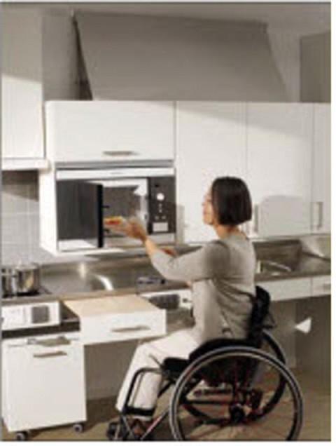 Wheelchair accessible kitchen handicap accessible for Wheelchair accessible kitchen cabinets