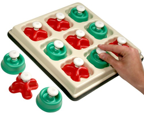 Chunky Tic Tac Toe Cognitive Toy : Pediatric Cognitive Toys