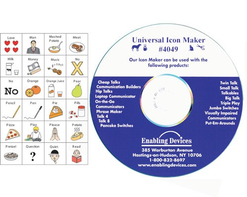 Universal Icon Maker Assistive Technology