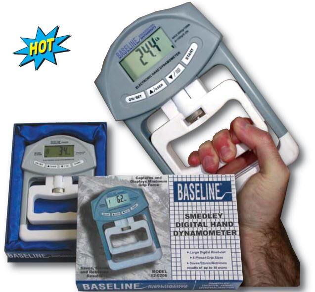 Hand Dynamometer Test : Baseline digital smedley spring hand dynamometer