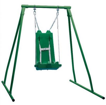 flaghouse indooroutdoor special needs pediatric swing frame