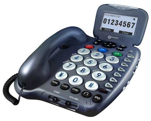 hearing impaired phones with answering machine