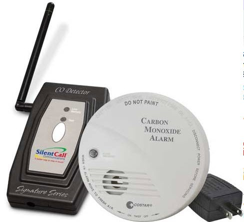 trine wireless doorbell chime with flashing strobe. Black Bedroom Furniture Sets. Home Design Ideas