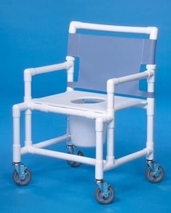 Oversize Shower Chair Commode with Flat Seat. Shower Commode Chair   Special Needs Bathroom   Shower Wheelchair