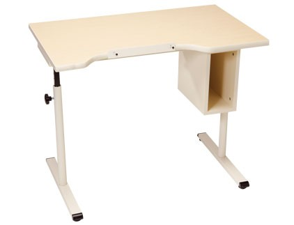 Wheelchair Accessible Desk with Storage Height