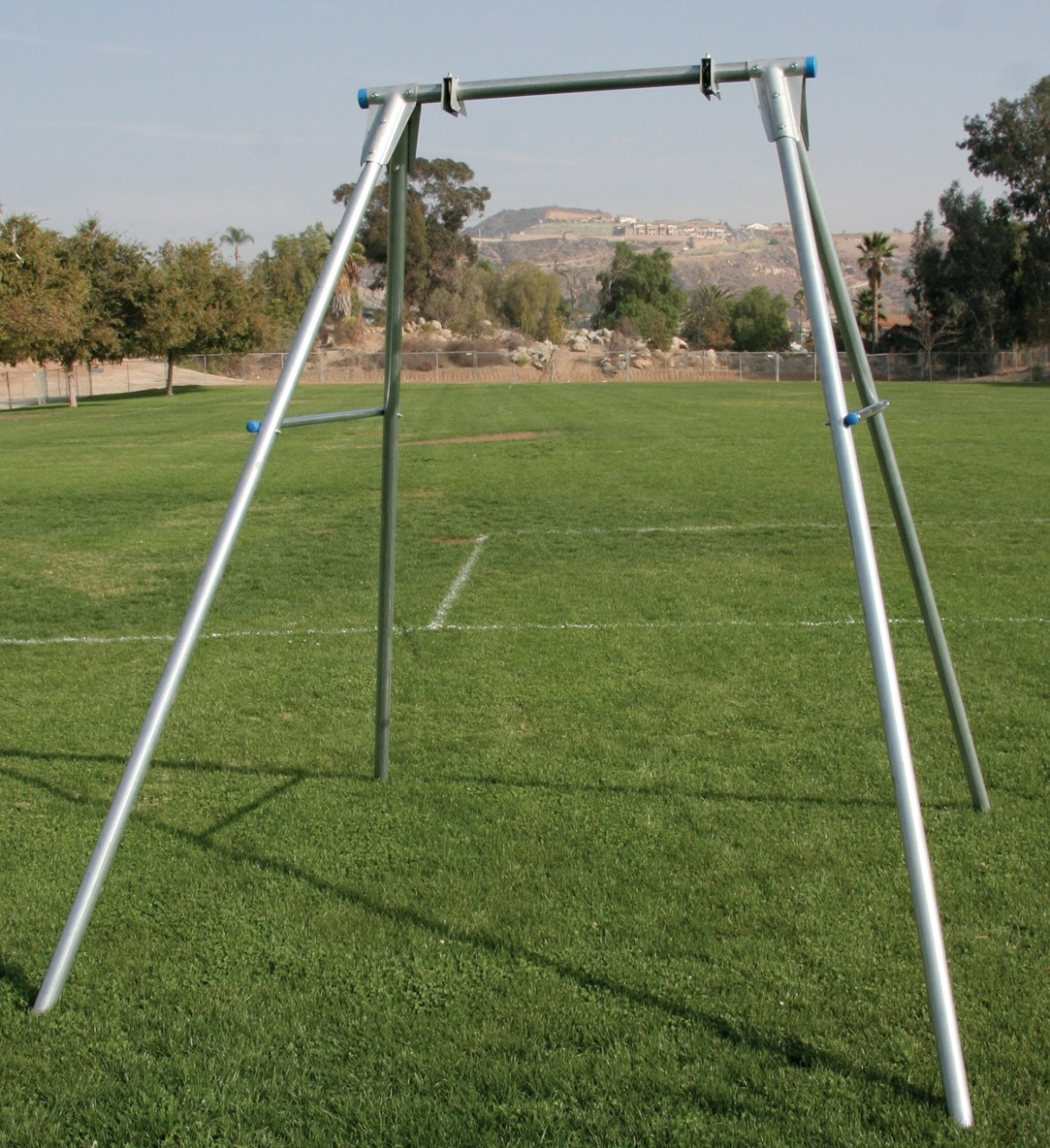 Pediatric swings swing frames special needs swing on for How to build a swing set for adults